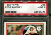 1978 Eddie Murray Topps Baseball