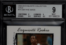 Dwayne Wade rookie cards on ebay