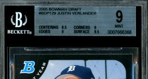 Justin Verlander Rookie Card Checklist