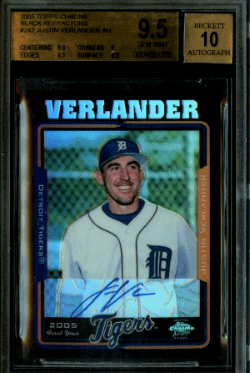 Justin Verlander Rookie Card Value