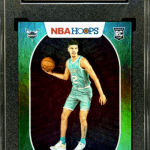 NBA Hoops LaMelo Ball Rookie Card