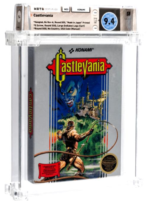 castlevania wata video game