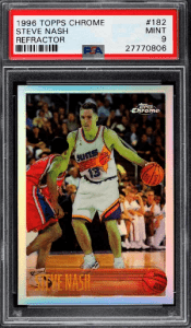 Steve Nash Rookie Card Value