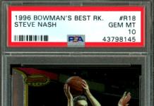 Steve Nash rookie cards
