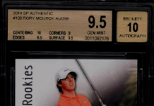Rory McIlroy sp rookie card