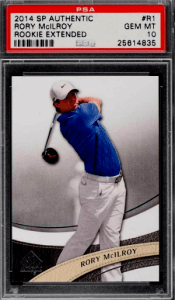 Rory McIlroy Rookie Card Checklist