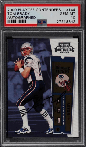Tom Brady Rookie Card – Best 8 Cards,Value, Checklist, and Investment Outlook