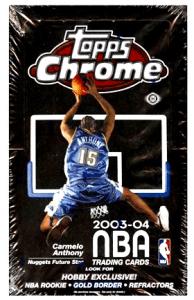 basketball card boxes