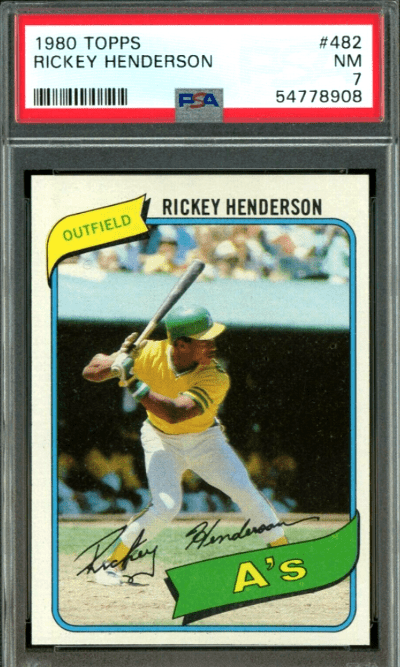 5 Fastest MLB Players Ever Rookie Cards