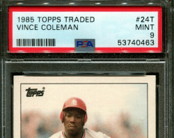 baseball fastest players rookie cards
