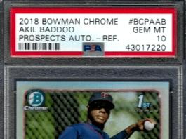 Akil Baddoo rookie card