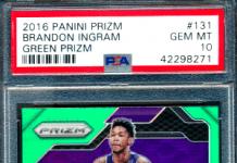 Brandon Ingram rookie cards