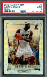 2012 LeBron James Panini Prizm Miami Heat #1