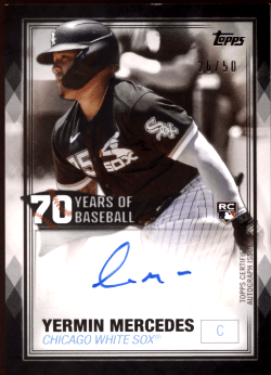 Yermin Mercedes rookie cards