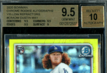 Best Dustin May rookie cards