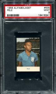 1958 Pele Alifabologet rookie card