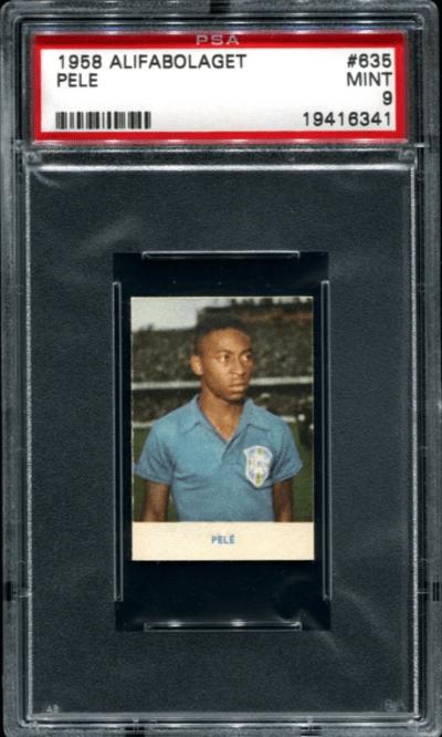 Pele rookie card