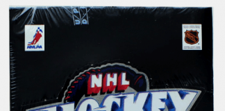 1990-91 Upper Deck Hockey box