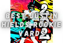best justin fields rookie cards