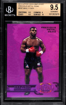 Best Mike Tyson Boxing Card