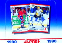 1990 score hockey rookie cards