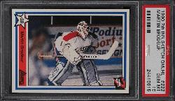 1990 7th Inning Martin Brodeur Sketch QMJHL rookie card