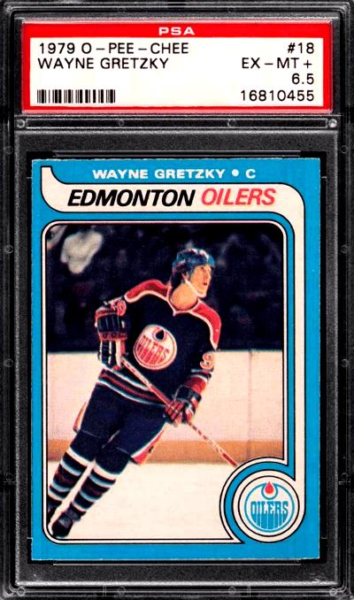 Fake 1979 O-Pee-Chee Wayne Gretzky Rookie Card