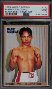 boxing cards worth money