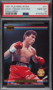 most valuable boxing cards