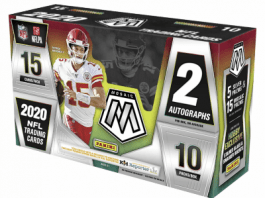 2020 Mosaic Football Factory Sealed Box