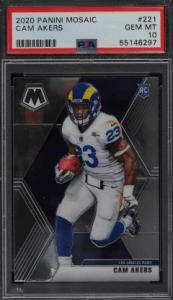 best mosaic football rookie cards