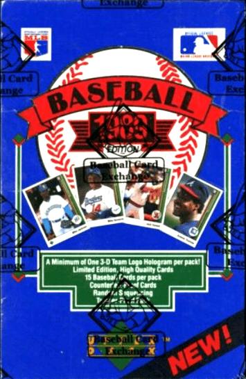 best baseball card boxes 1989 upper deck