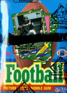 Topps hobby box football