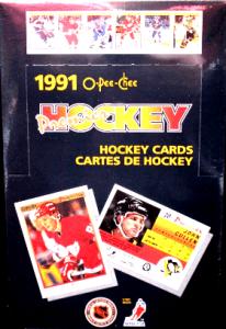 1990-91 o-pee-chee premier hockey box