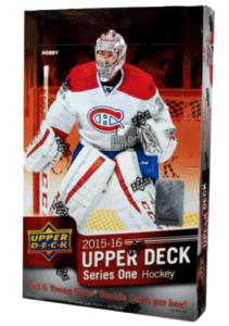 2015 Upper Deck Series 1 Hockey Box
