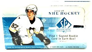 2005 SP Authentic Hockey Box
