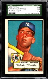 high value growth baseball rookie cards