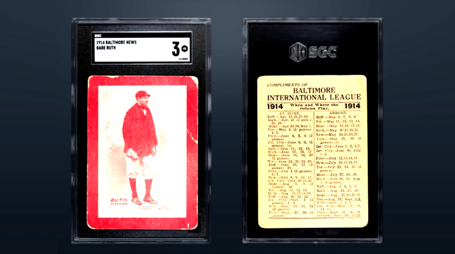 Babe Ruth Card Sell For $6 Million, Becomes Worlds Most Expensive Sports Card