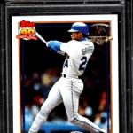 most expensive 1991 topps baseball cards ken griffey jr