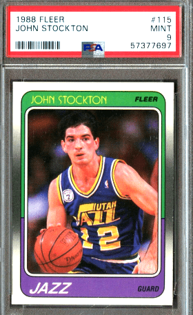 Top 10 Basketball Cards from the 1980's