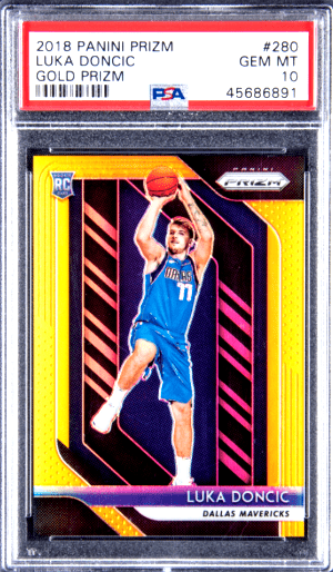 most valuable luka doncic cards