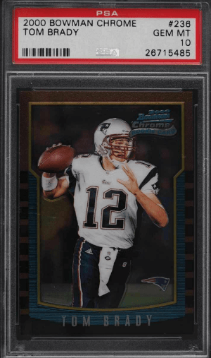 Best Tom Brady Rookie Card Investments