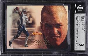 2000 Tom Brady Fleer Showcase Firsts rookie