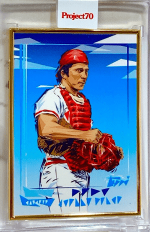 2021 Topps PROJECT 1982 JOHNNY BENCH
