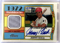 JOHNNY BENCH 2021 Topps Heritage
