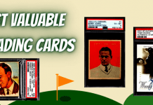 Most Valuable Golf Cards