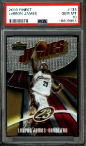 2003 LeBron James Finest