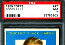 1959 Bobby Hull Topps