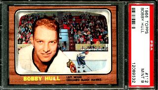 1966 Bobby Hull Topps #112
