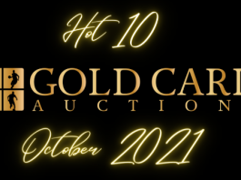 gold card hot 10 cards